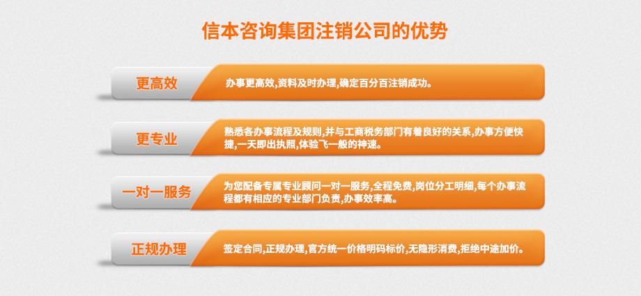 信本咨询集团网站注销页面5-2018.12.4