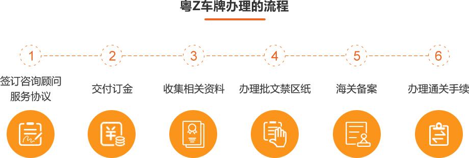 3 粤Z车牌办理的流程